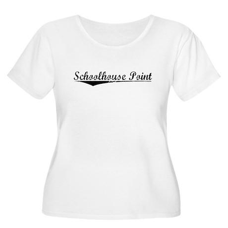Schoolhouse Point, Vintage Women's Plus Size Scoop