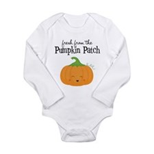 Fresh from Pumpkin Patch Long Sleeve Baby Creeper