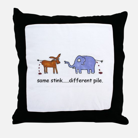 Vote Independent Throw Pillow