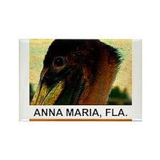 ancient pelican Rectangle Magnet