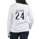 Nicks Football Jersey Number Women's Long Sleeve T