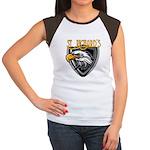 Nicks Football Jersey Number Women's Cap Sleeve T-