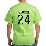 Nicks Football Jersey Number Green T-Shirt