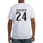 Nicks Football Jersey Number Fitted T-Shirt