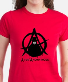 A for Anonymous 2c Tee