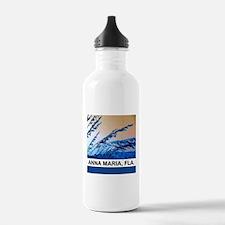 blue seagrass Water Bottle