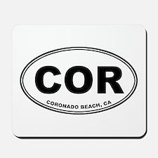 Coronado Beach, CA Mousepad
