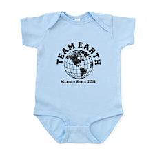 Team Earth : Member Since 2011 Infant Bodysuit