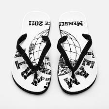 Team Earth : Member Since 2011 Flip Flops