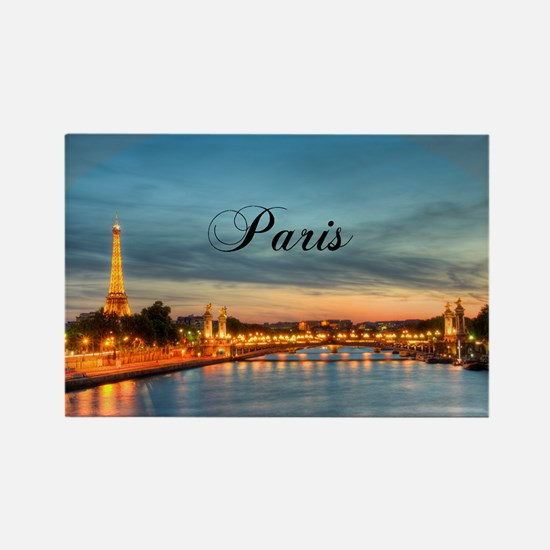 Paris Rectangle Magnet
