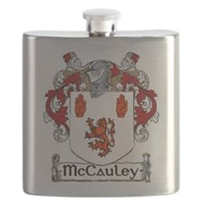 McCauley Coat of Arms Flask
