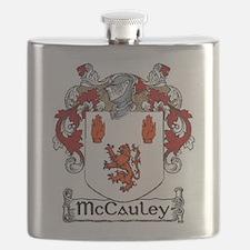 McCauley Coat of Arms Flask