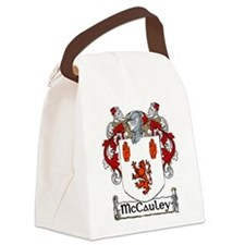 McCauley Coat of Arms Canvas Lunch Bag
