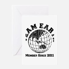 Team Earth : Member Since 2011 Greeting Card