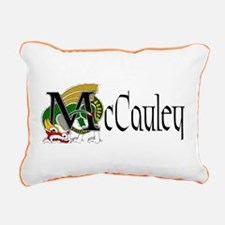 McCauley Celtic Dragon Rectangular Canvas Pillow