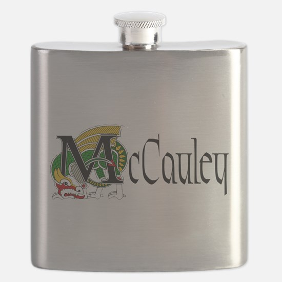 McCauley Celtic Dragon Flask