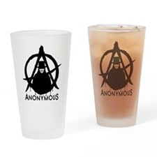 Anonymous Vendetta Drinking Glass