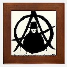 Anonymous Vendetta Framed Tile