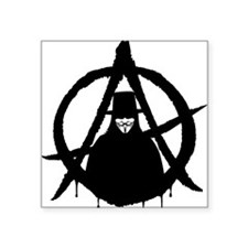 """Anonymous Vendetta (only) Square Sticker 3"""" x 3"""""""