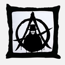Anonymous Vendetta (only) Throw Pillow