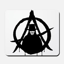 Anonymous Vendetta (only) Mousepad