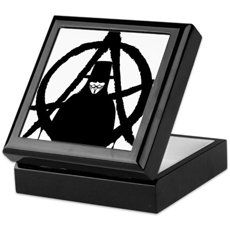 Anonymous Vendetta (only) Keepsake Box