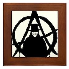 Anonymous Vendetta (only) Framed Tile