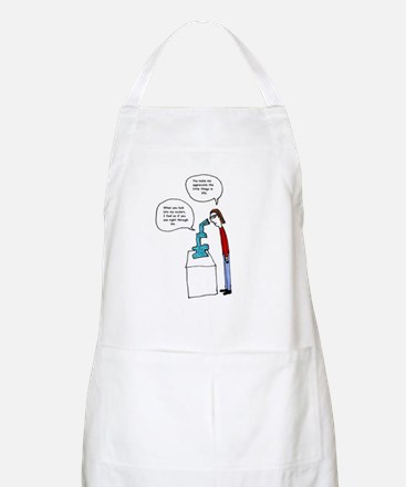 Microscope Love Apron