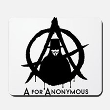 A for Anonymous Mousepad