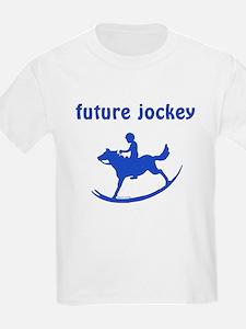 Future Jockey (blue) T-Shirt