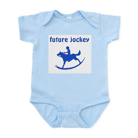 Future Jockey (blue) Infant Bodysuit