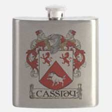 Cassidy Coat of Arms Flask