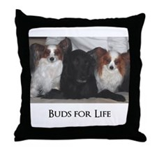 Dogs - Buds for Life Throw Pillow