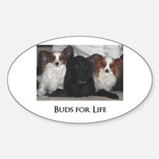 Dogs - Buds for Life Decal