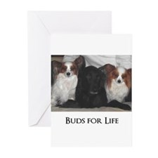 Dogs - Buds for Life Greeting Cards (Pk of 20)
