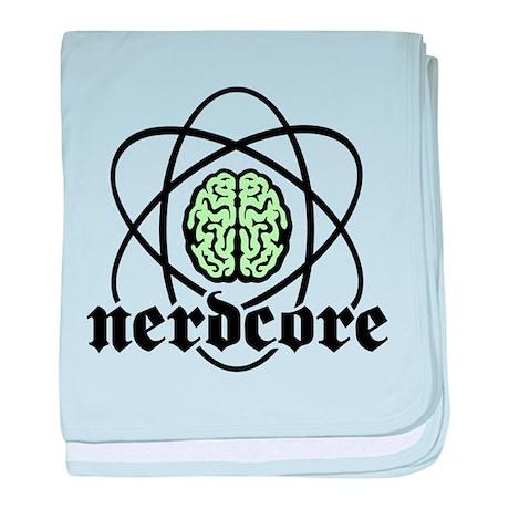Atomic nucleus Nerdcore baby blanket