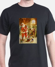 Santa in His North Pole Stables T-Shirt