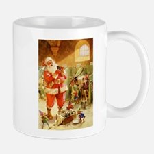 Santa in His North Pole Stables Mug