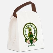 Cassidy Clan Motto Canvas Lunch Bag