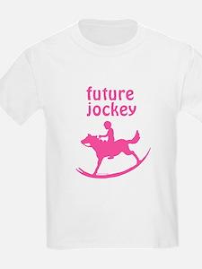 Future Jockey (pink) T-Shirt