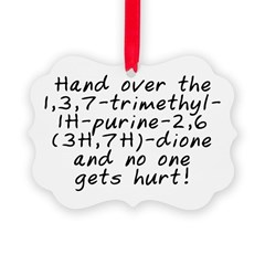 Hand over the caffeine - Ornament