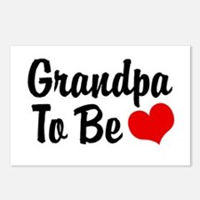 Grandpa To Be  Postcards (Package of 8)