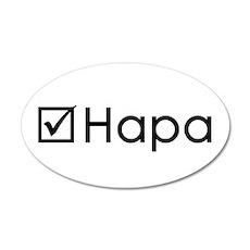 Check Hapa Wall Decal