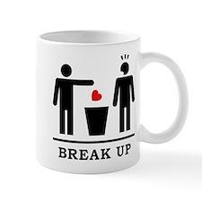 Break up - Broken Heart Boys 2c Mug