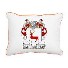 McCarthy Coat of Arms Rectangular Canvas Pillow