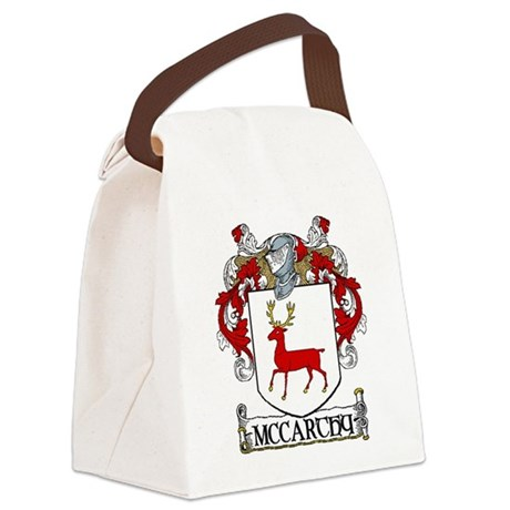 McCarthy Coat of Arms Canvas Lunch Bag