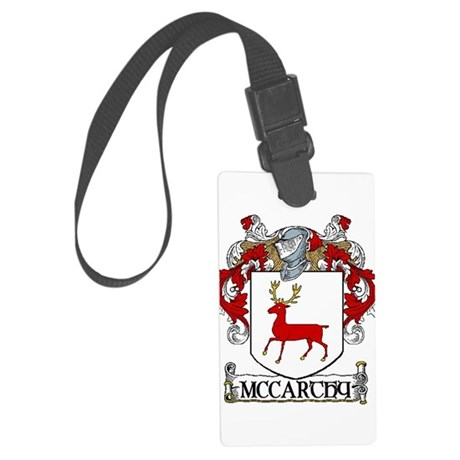 McCarthy Coat of Arms Large Luggage Tag