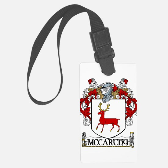 McCarthy Coat of Arms Luggage Tag