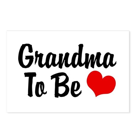 Grandma To Be Postcards (Package of 8)