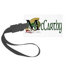McCarthy Celtic Dragon Luggage Tag